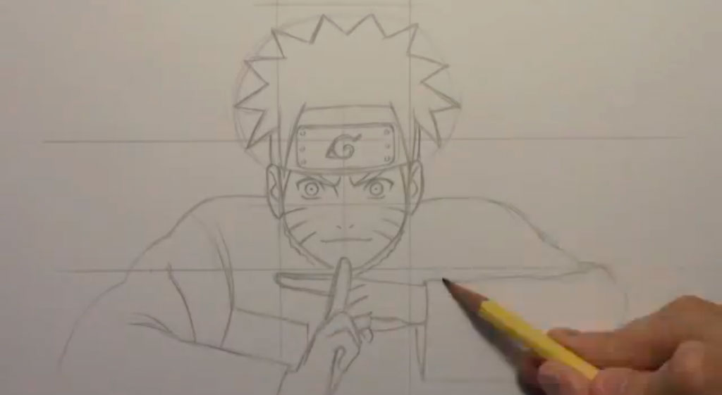 как рисовать аниме героев: