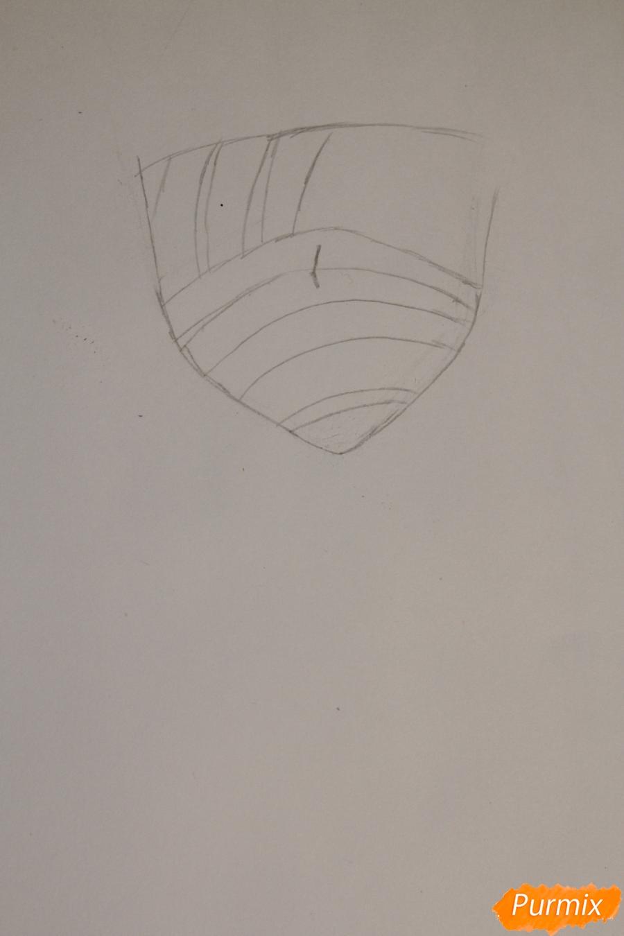 Рисуем перебинтованного Нацу - шаг 1
