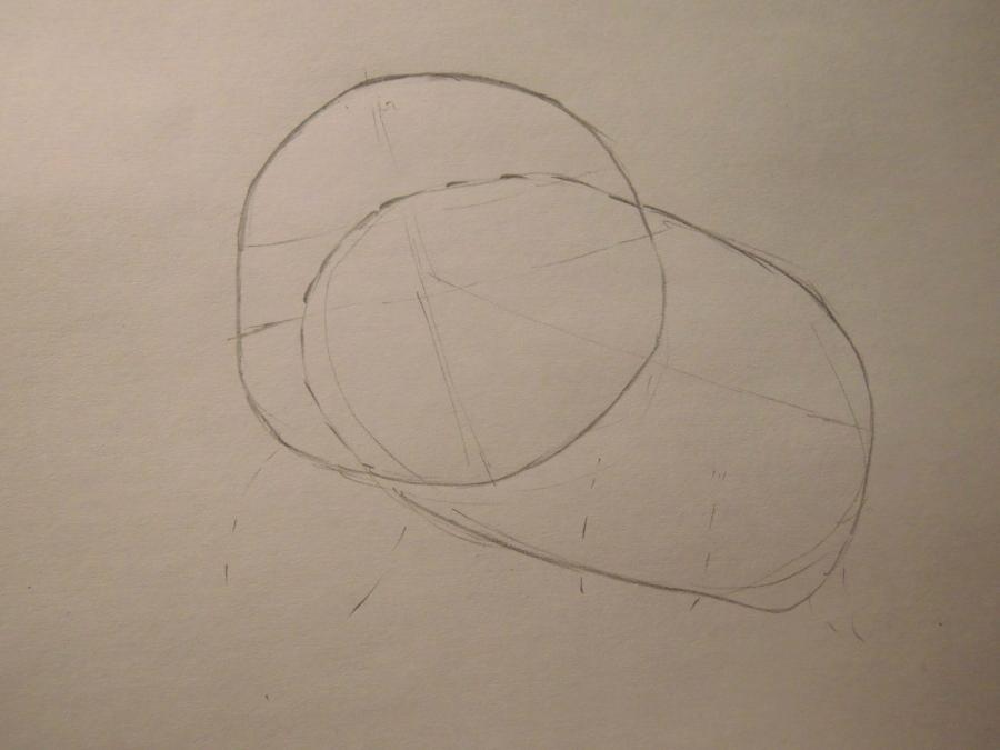 Рисуем Пикачу - шаг 1