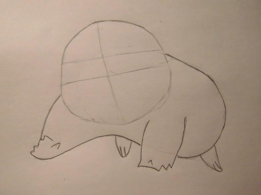 Рисуем Пикачу - шаг 2