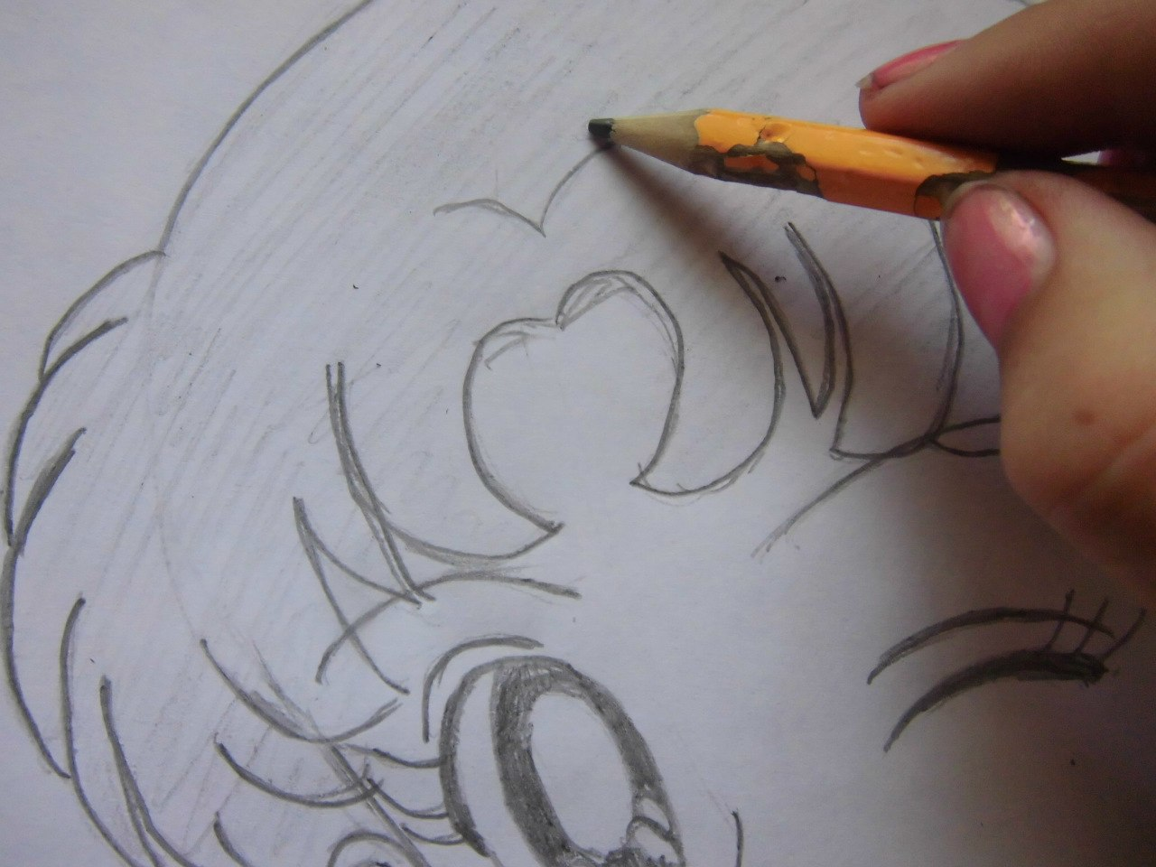 рисунки карандашом для срисовки про спорт