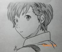 портрет Ёсино Тикигава из Буря потерь