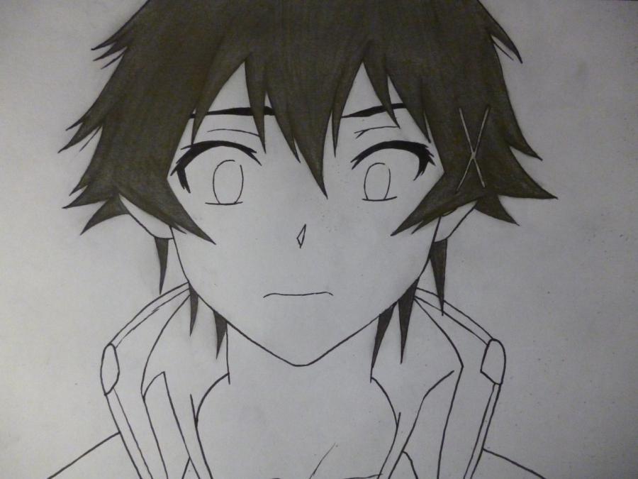 Рисуем Раку Ичиджо из аниме Притворная любовь