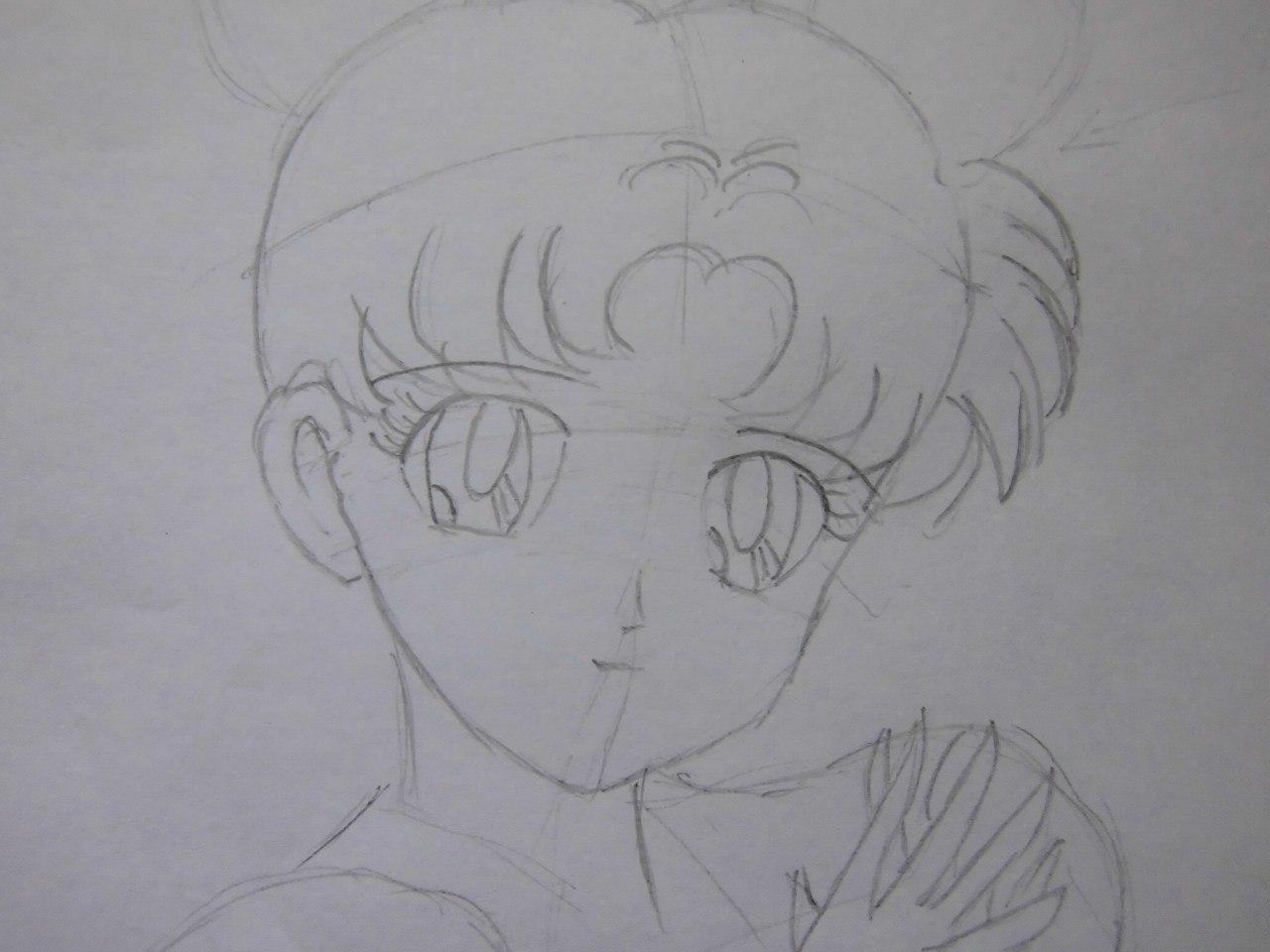 Как сделать фото рисунок аниме