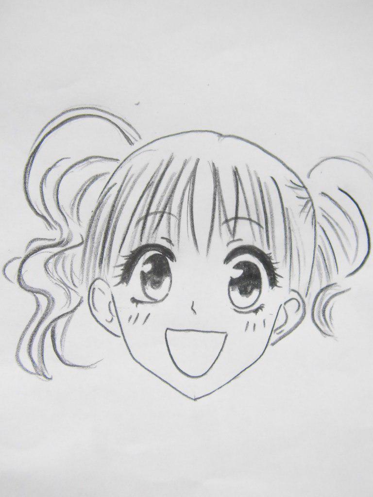 Как нарисовать Сакуру Ханадзоно из Президент студсовета горничная