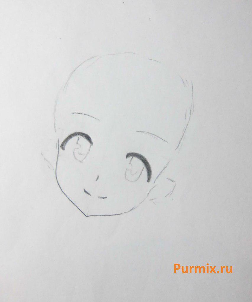 Как нарисовать Саяки Мики из аниме Волшебница Мадока Магика