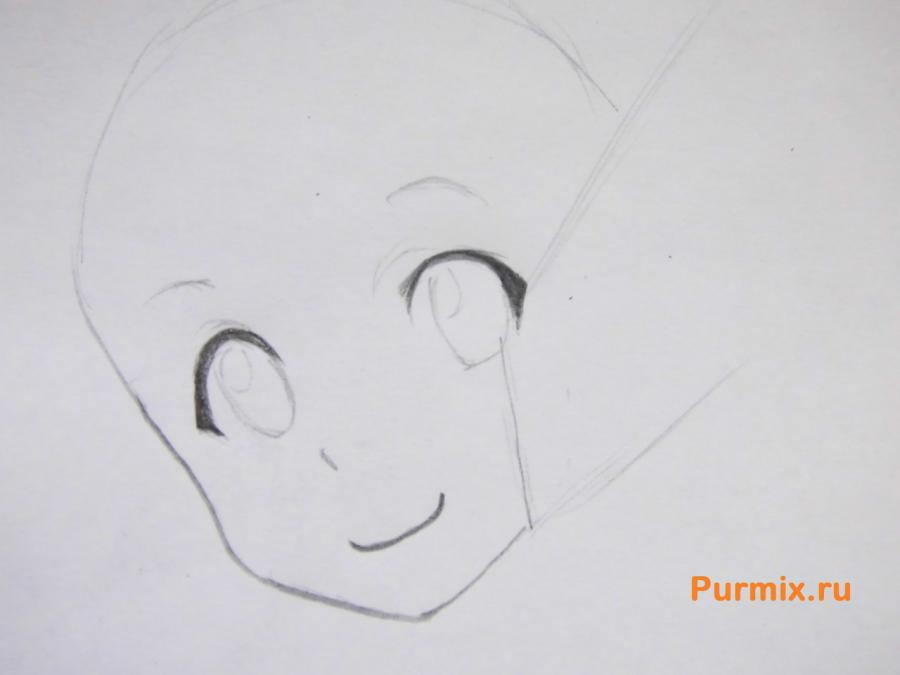 Рисуем Силику из аниме Мастер меча онлайн
