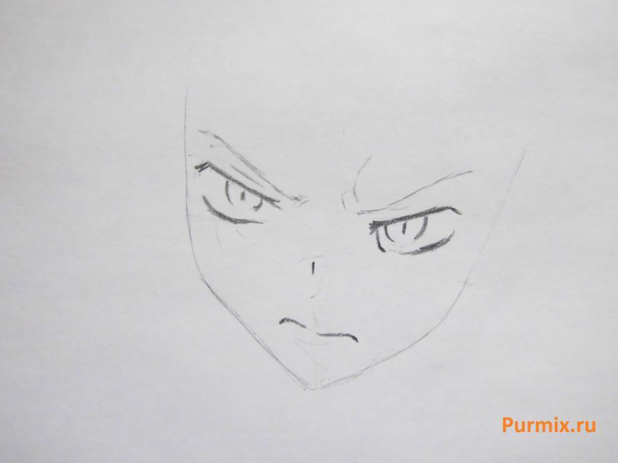 Рисуем Сироганэ из аниме Монохромный фактор