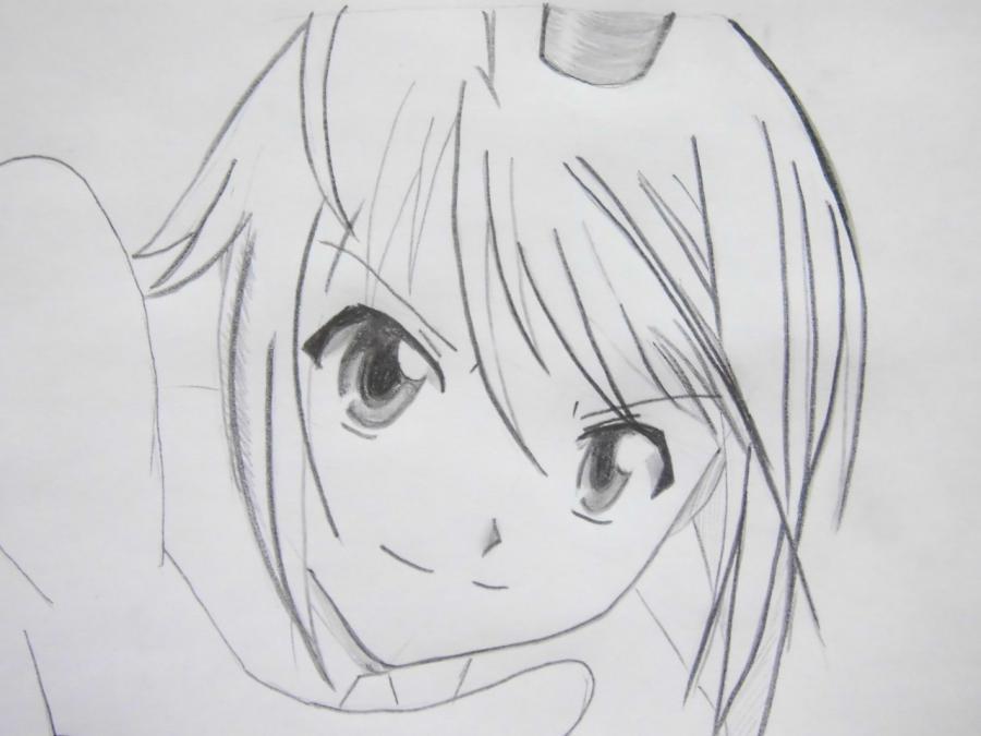 Рисуем Тадасэ Хотори из аниме Чара-хранители