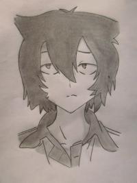 Рисунок Тихиро Фуруя из Санка Рэа