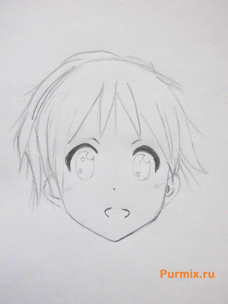 Рисуем маленькую Юи Хирасаву - фото 3