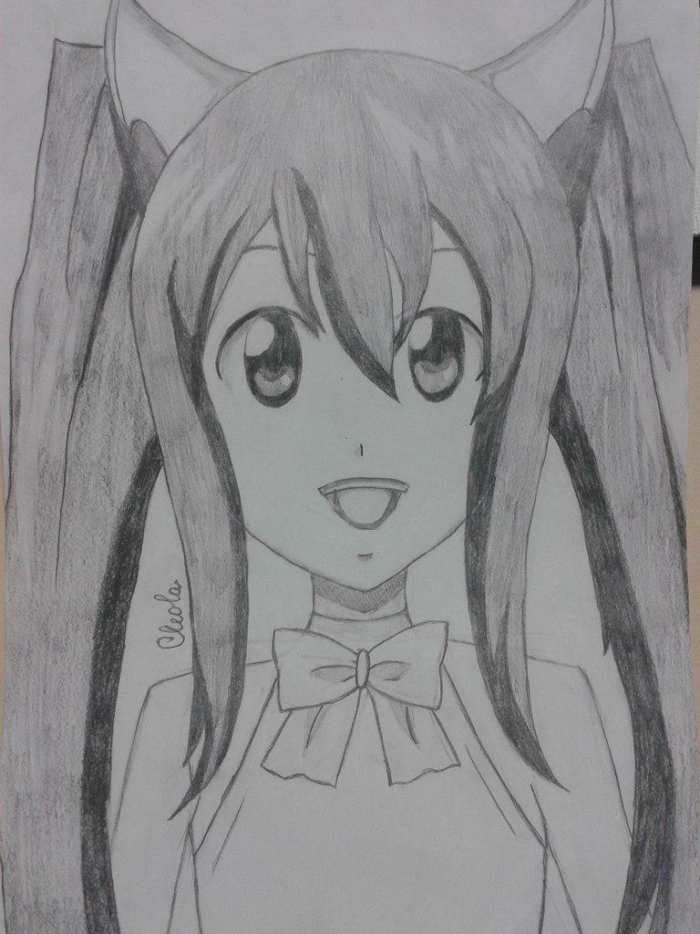 Как нарисовать Венди из аниме Fairy Tail простым карандашом поэтапно