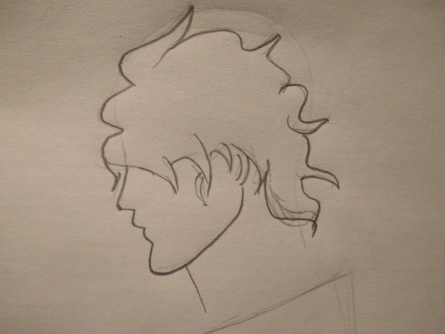 Рисуем Ясутора Садо из аниме Блич