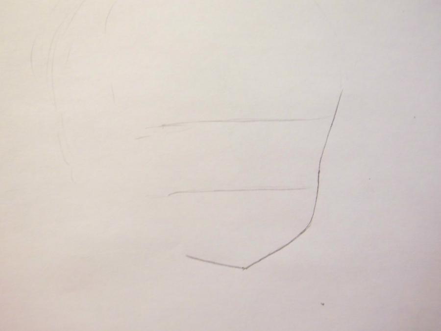 Как нарисовать Ю Нарусэ из аниме WataMote карандашом