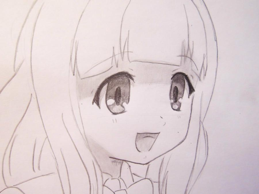 Как рисуют аниме сложные