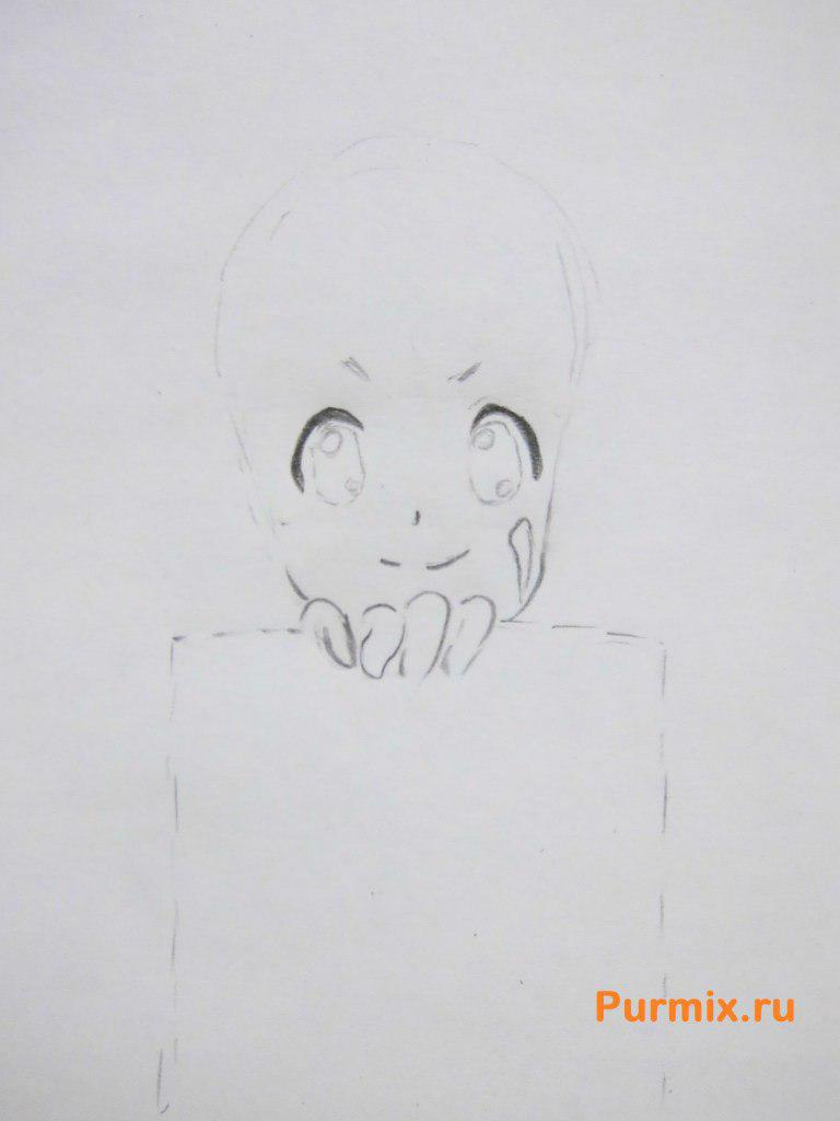 Рисуем Юи Хирасаву из аниме K-on - фото 2