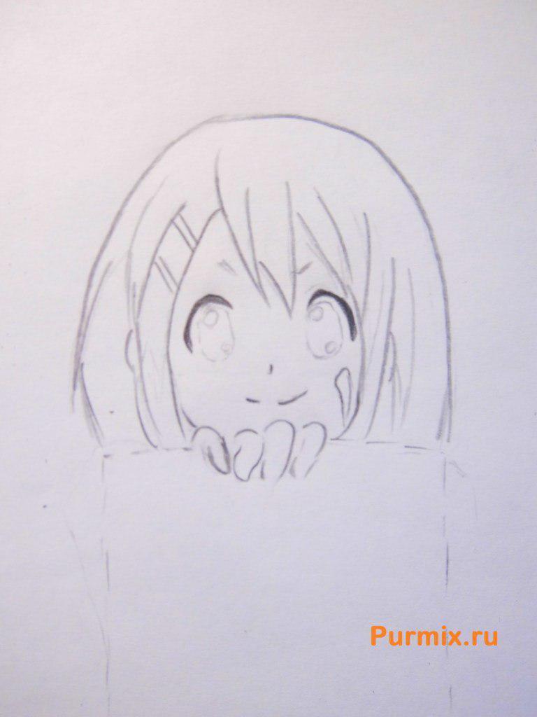 Рисуем Юи Хирасаву из аниме K-on - фото 3