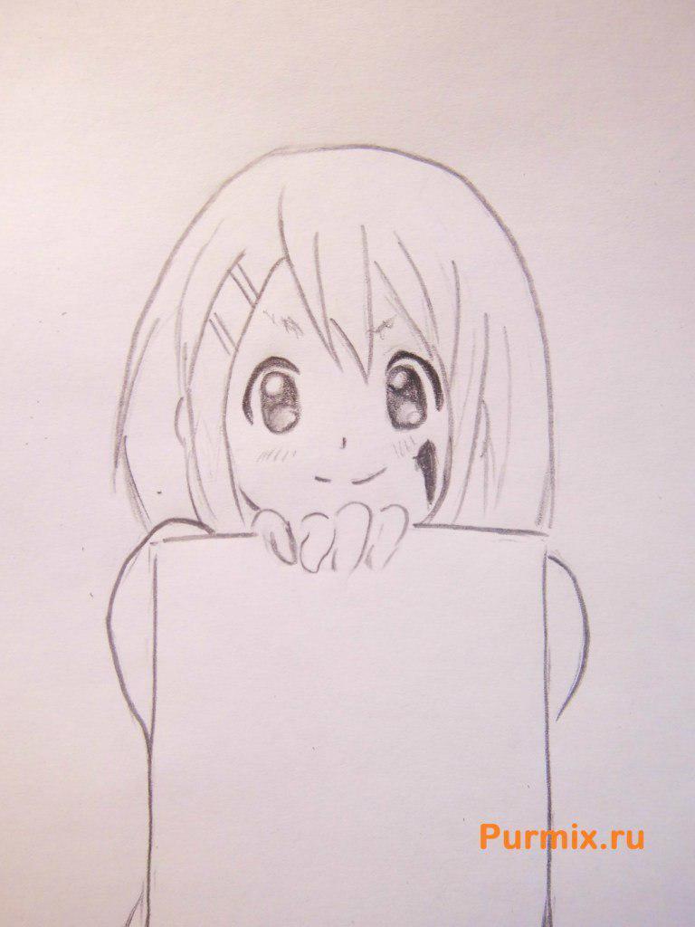 Рисуем Юи Хирасаву из аниме K-on - фото 5