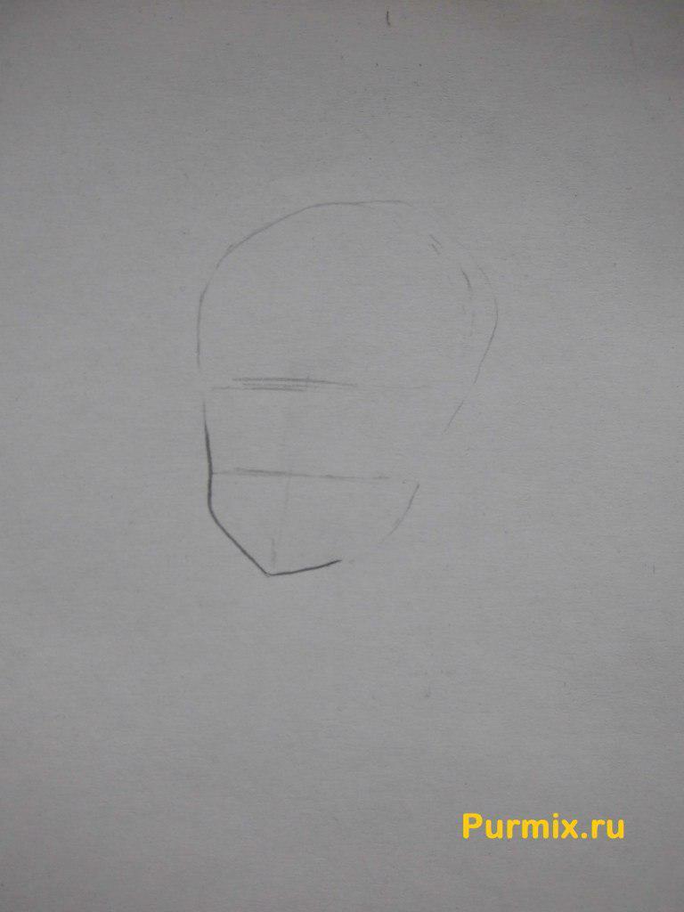 Рисуем Юи Хирасаву в полны рост - фото 1