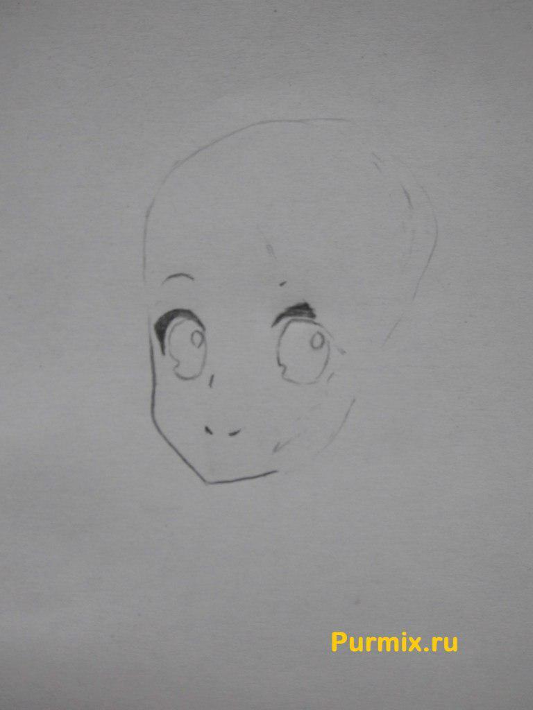 Рисуем Юи Хирасаву в полны рост - фото 2