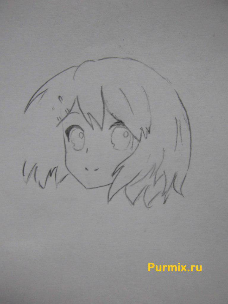 Рисуем Юи Хирасаву в полны рост - фото 3
