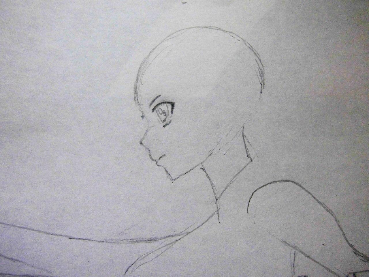 Учимся рисовать Юки Асуну из аниме Мастера меча онлайн карандашами - фото 2