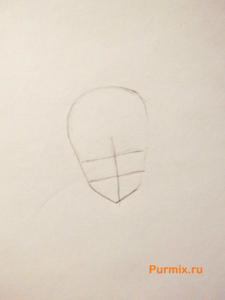 Рисуем Юки Асуну в полный рост - фото 1