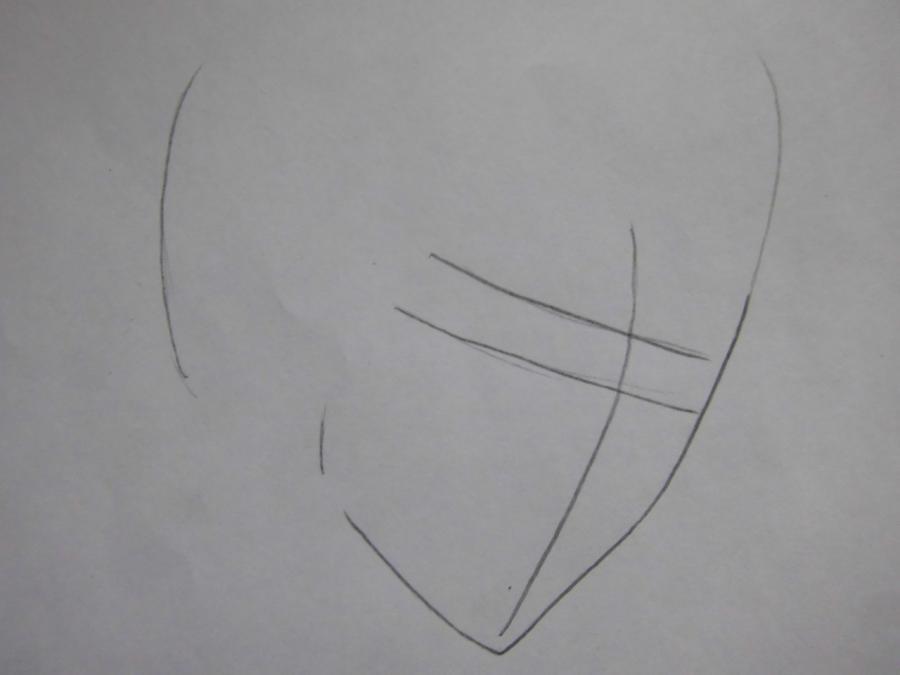 Как нарисовать Юу Канда из Ди.Грей - мен карандашом поэтапно
