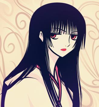 Как нарисовать Yuuko Ichihara из манги XXXHolic карандашом поэтапно