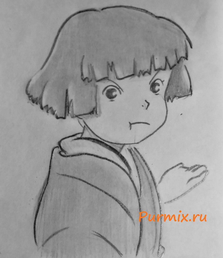 Рисунки карандашом воительниц 29 фотография