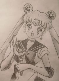 Как научится рисовать Сейлор Мун