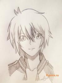 Как научиться рисовать Тадаси Карино из аниме Спецкласс «А»