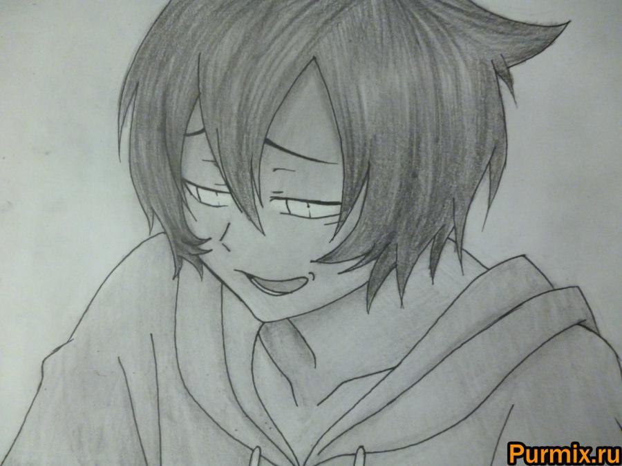 Как научиться рисовать Тихиро Фуруя из аниме Санка Рэа