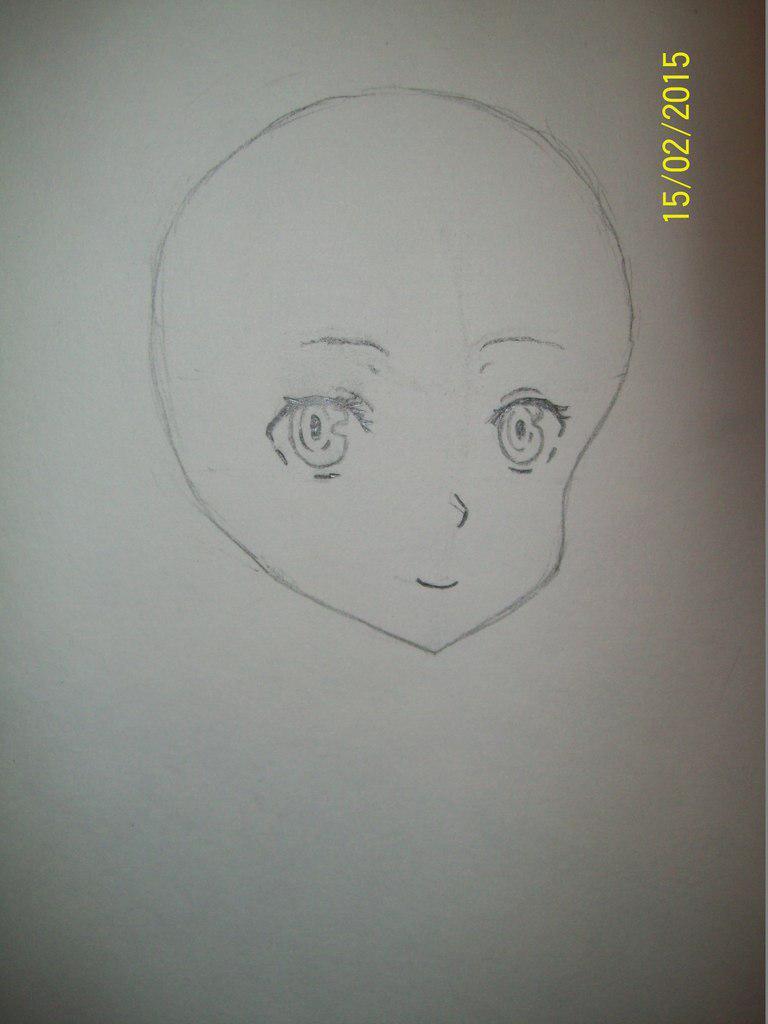 Как рисовать богиню Гестию из аниме Может я встречу тебя в подземелье?