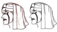 Рисование лица в стиле аниме OnePiece 3