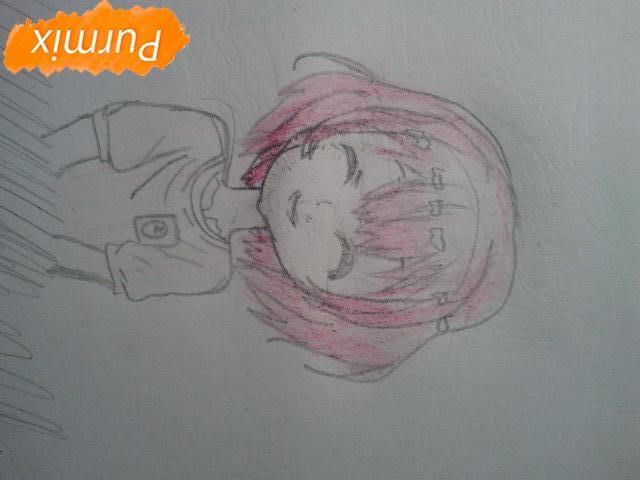 Рисуем милую Нашинами Шоко из аниме Форма голоса - фото 10