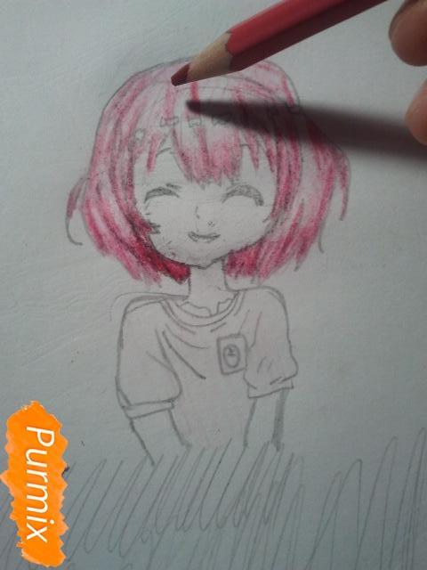 Рисуем милую Нашинами Шоко из аниме Форма голоса - фото 11
