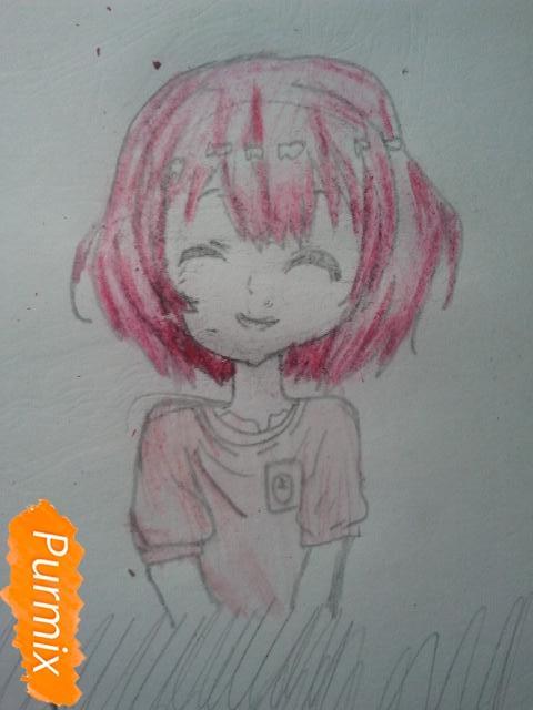Рисуем милую Нашинами Шоко из аниме Форма голоса - фото 13