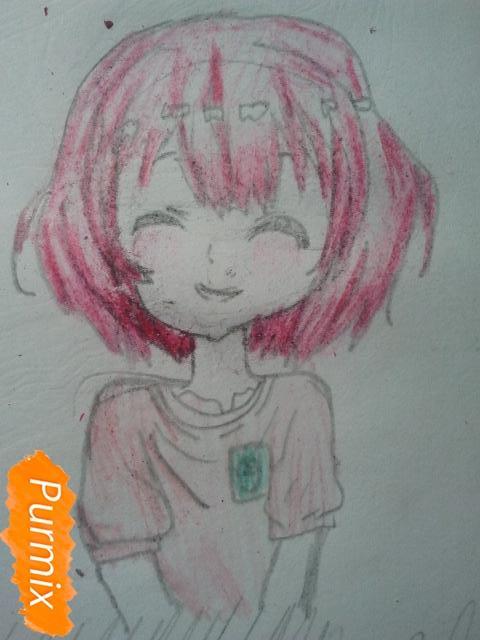 Рисуем милую Нашинами Шоко из аниме Форма голоса - фото 14