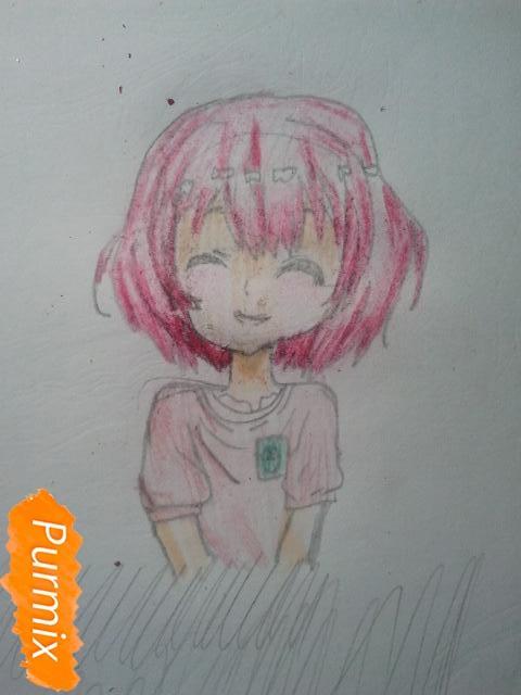 Рисуем милую Нашинами Шоко из аниме Форма голоса - фото 17