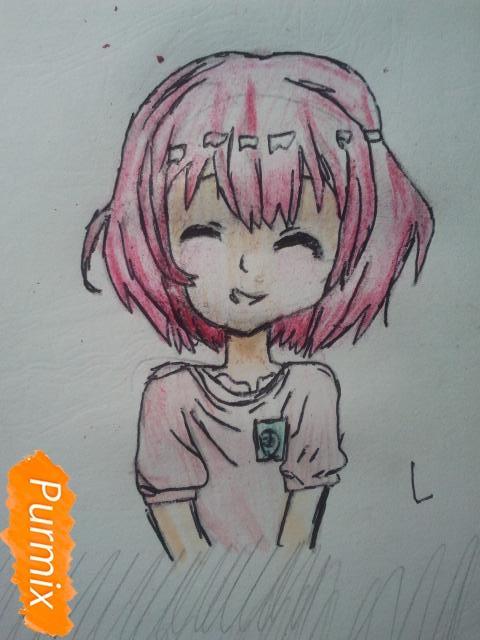 Рисуем милую Нашинами Шоко из аниме Форма голоса - фото 18
