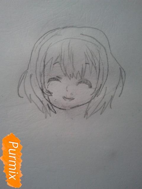 Рисуем милую Нашинами Шоко из аниме Форма голоса - фото 6
