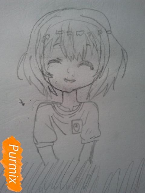 Рисуем милую Нашинами Шоко из аниме Форма голоса - фото 8