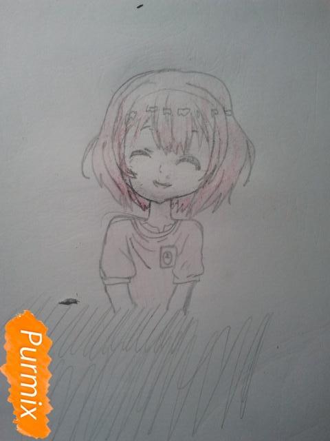 Рисуем милую Нашинами Шоко из аниме Форма голоса - фото 9