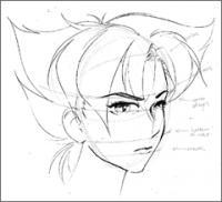 Рисуем Koноко из «Oni»