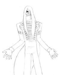 Рисуем Алукард из «Hellsing»
