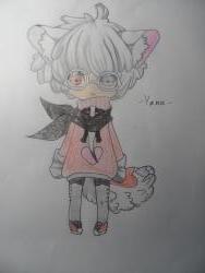 Учимся рисовать девочку Чиби в виде зверька