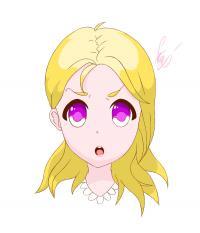Учимся рисовоать лицо аниме персонажа