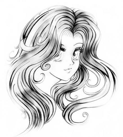 Картинки волосы и ветер - 15