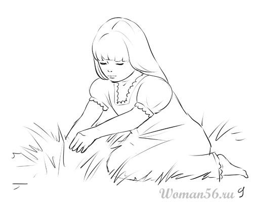 как рисовать аниме голых девушек: